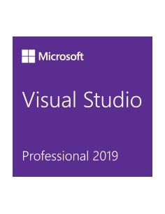 Microsoft Visual Studio Professional 2019 1 lisenssi(t) Lisenssi Englanti, Japani Microsoft C5E-01388 - 1