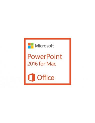 Microsoft PowerPoint 2016 for Mac, 1u Microsoft D47-00751 - 1
