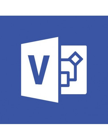 Microsoft Office Visio Professional Microsoft D87-01191 - 1