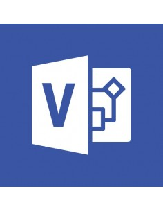 Microsoft Office Visio Professional Microsoft D87-04380 - 1
