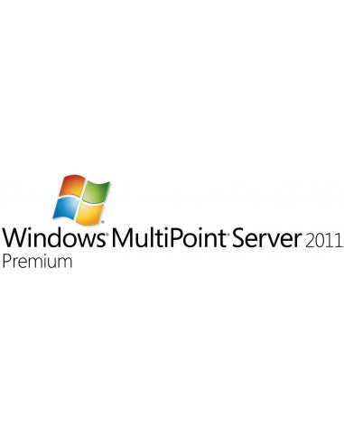 Microsoft Windows MultiPoint Server 2011 Premium, OVL-C, 1 SrvLic, SA 1Y-Y1AP Microsoft V7J-00161 - 1