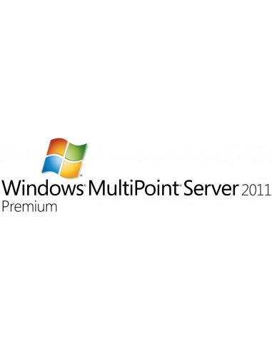 Microsoft Windows MultiPoint Server 2011 Premium, OVL-NL, 1 SrvLic, SA 1Y-Y3 Microsoft V7J-00167 - 1