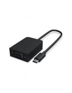 Microsoft Surface USB-C/VGA Adapter Male USB-C Female VGA Svart Microsoft HFR-00003 - 1
