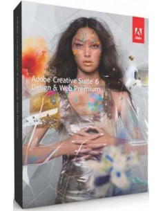 Adobe Creative Suite CS6 Design & Web Premium, Win, DVD, SE Adobe 65178490 - 1