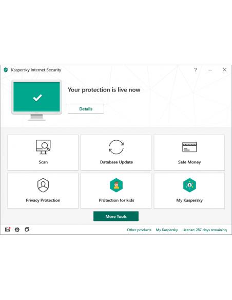 Kaspersky Lab Internet Security + for Android Peruslisenssi 1 lisenssi(t) Kaspersky KL1939G5AFS-20KISA - 2