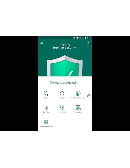 Kaspersky Lab Internet Security + for Android Peruslisenssi 1 lisenssi(t) Kaspersky KL1939G5AFS-20KISA - 4