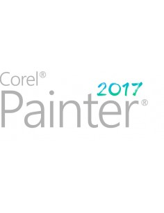 Corel Painter 2017 Education Lic (251+) Saksa, Englanti, Ranska Corel LCPTR2017MLA4 - 1