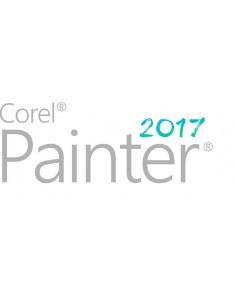 Corel Painter 2017 License (Single User) 1 lisenssi(t) Saksa, Englanti, Ranska Corel LCPTR2017MLPCM1 - 1