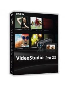 Corel VideoStudio Pro X3, 501-1000u, Multi Saksa, Hollanti, Englanti, Espanja, Ranska, Italia, Puola Corel LCVSPRX3MLH - 1