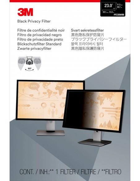 3M Sekretessfilter till widescreen-skärm 23 tum 3m 7000021450 - 2