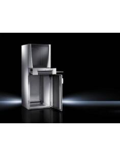 Rittal 5366.000 palvelinteline Itseseisova teline Alumiini, Musta, Harmaa Rittal 5366000 - 1