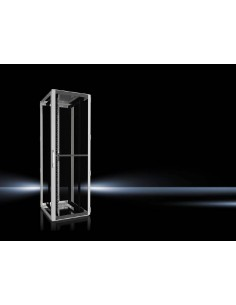 Rittal 5512.110 rack cabinet 47U Freestanding Black, Grey Rittal 5512110 - 1