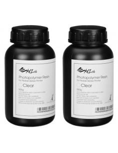 XYZprinting RUGNRXTW00G Material för 3D-utskrifter Harts Transparent 500 g  RUGNRXTW00G - 1