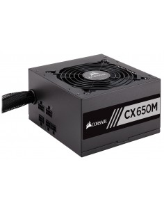 Corsair CX650M virtalähdeyksikkö 650 W 20+4 pin ATX Musta Corsair CP-9020103-EU - 1