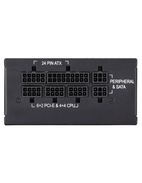 Corsair SF600 virtalähdeyksikkö 600 W 24-pin ATX SFX Musta Corsair CP-9020105-EU - 8