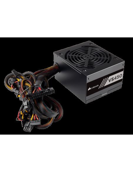 Corsair VS450 virtalähdeyksikkö 450 W 24-pin ATX Musta Corsair CP-9020170-EU - 2