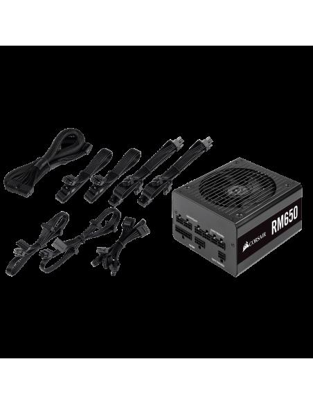 Corsair RM650 virtalähdeyksikkö 650 W 20+4 pin ATX Musta Corsair CP-9020194-EU - 9
