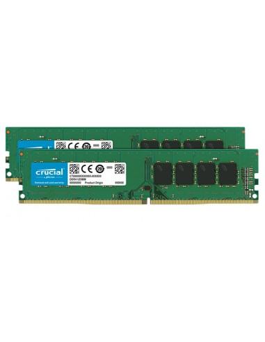 Crucial CT2K16G4DFD8266 muistimoduuli 32 GB 2 x 16 DDR4 2666 MHz Crucial Technology CT2K16G4DFD8266 - 1