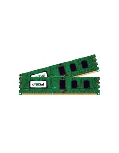 Crucial CT2K51264BD160BJ muistimoduuli 8 GB 2 x 4 DDR3 1600 MHz Crucial Technology CT2K51264BD160BJ - 1