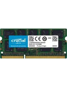Crucial CT8G3S160BM muistimoduuli 8 GB 1 x DDR3 1600 MHz Crucial Technology CT8G3S160BM - 1