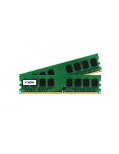 Crucial 4GB DDR2 UDIMM muistimoduuli 2 x GB 667 MHz Crucial Technology CT2KIT25664AA667 - 1