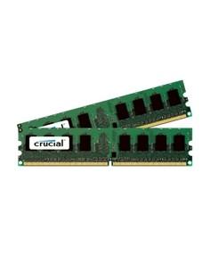 Crucial 4GB DDR2 muistimoduuli 800 MHz ECC Crucial Technology CT2KIT25672AA80EA - 1