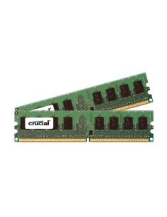 Crucial 8GB DDR2 DIMM muistimoduuli 667 MHz Crucial Technology CT2KIT51264AA667 - 1