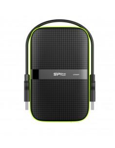 Silicon Power Armor A60 ulkoinen kovalevy 4000 GB Musta, Vihreä Silicon Power SP040TBPHDA60S3K - 1