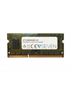 V7 4GB DDR3 1600MHz SO-DIMM muistimoduuli 1 x 4 GB V7 Ingram Micro V7128004GBS-DR-LV - 1
