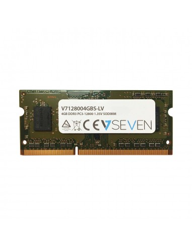 V7 4GB DDR3 1600MHz SO-DIMM muistimoduuli 1 x 4 GB V7 Ingram Micro V7128004GBS-DR-LV - 1