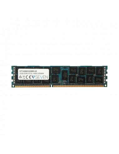 V7 V71490032GBR-LR muistimoduuli 32 GB 1 x DDR3 2400 MHz ECC V7 Ingram Micro V71490032GBR-LR - 1