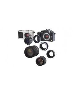 Novoflex Adapter Olympus Obj. an Micro Four Thirds Kameras kameran objektiivin sovitin Novoflex MFT/OM - 1