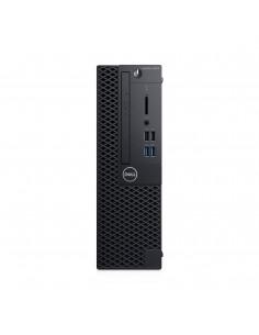 DELL OptiPlex 3070 i3-9100 SFF 9. sukupolven Intel® Core™ i3 8 GB DDR4-SDRAM 256 SSD Windows 10 Pro PC Musta Dell P2X77 - 1