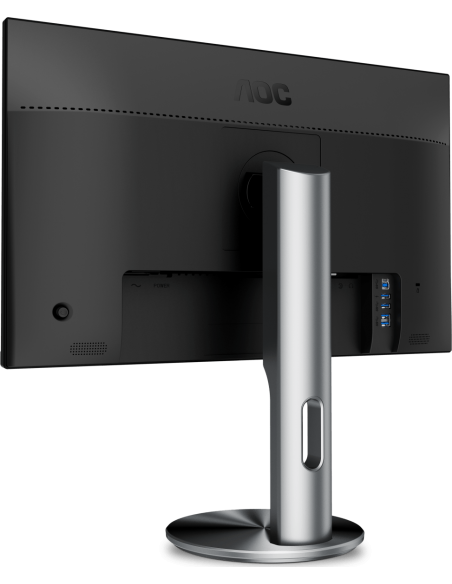 "AOC Pro-line I2490PXQU/BT tietokoneen litteä näyttö 60.5 cm (23.8"") 1920 x 1080 pikseliä Full HD LED Harmaa Aoc International I2"