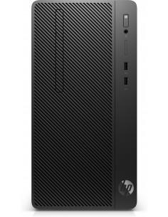 HP 290 G3 i3-9100 Micro Tower 9th gen Intel® Core™ i3 8 GB DDR4-SDRAM 256 SSD Windows 10 Pro PC Black Hp 8VR91EA#ABD - 1