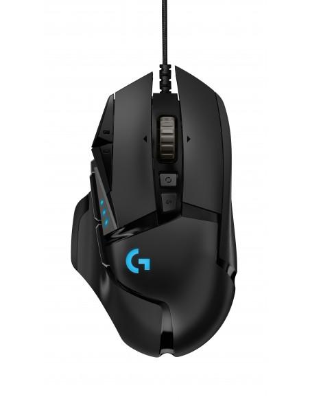 Logitech G502 Hero hiiri USB Optinen 16000 DPI Oikeakätinen Logitech 910-005470 - 1