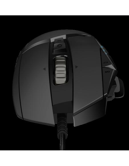 Logitech G502 Hero hiiri USB Optinen 16000 DPI Oikeakätinen Logitech 910-005470 - 3