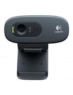 Logitech C270 verkkokamera 3 MP 1280 x 720 pikseliä USB 2.0 Musta Logitech 960-001063 - 1
