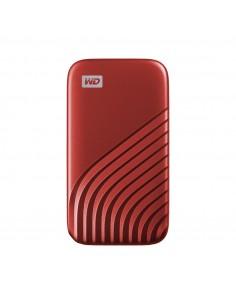 Western Digital My Passport 1000 GB Punainen Sandisk WDBAGF0010BRD-WESN - 1