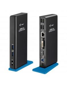 i-tec U3HDMIDVIDOCK kannettavien tietokoneiden telakka ja porttitoistin Telakointi USB 3.2 Gen 1 (3.1 1) Type-A Musta Sonstige U