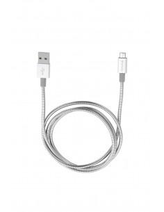 Verbatim 48862 USB-kaapeli 1 m USB A Micro-USB Hopea Verbatim 48862 - 1