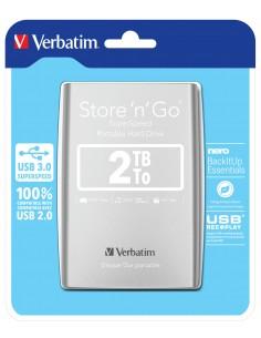 Verbatim Store 'n' Go ulkoinen kovalevy 2048 GB Hopea Verbatim 53189 - 1