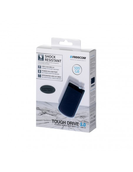 Freecom Tough Drive ulkoinen kovalevy 500 GB Harmaa Freecom 56058 - 3