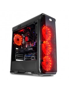 LC-Power Gaming 988B - Red Typhoon Midi Tower Musta Lc Power LC-988B-ON - 1