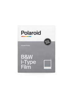 Polaroid Originals B&W i‑Type Film pikafilmi 107 x 88 mm 8 kpl Polaroid 006001 - 1