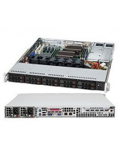 Supermicro CSE-116TQ-R700CB tietokonekotelo Teline Musta 700 W Supermicro CSE-116TQ-R700CB - 1