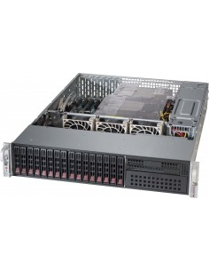 Supermicro 213AC-R920LPB Rack Black 920 W Supermicro CSE-213AC-R920LPB - 1
