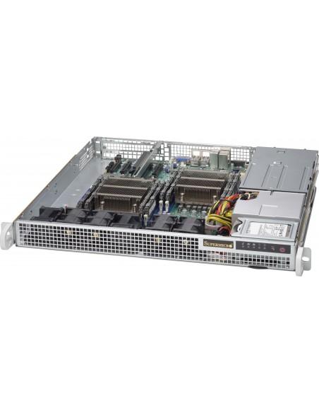Supermicro 514-R400C Teline Musta 400 W Supermicro CSE-514-R400C - 2