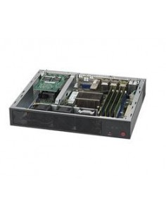 Supermicro SuperServer E300-8D servrar 2.2 GHz Mini (1U) Intel® Xeon® D DDR4-SDRAM Supermicro SYS-E300-8D - 1