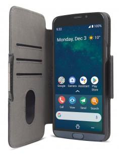 """Doro 7645 matkapuhelimen suojakotelo 14.5 cm (5.7"""") Lompakkokotelo Musta Doro 7645 - 1"""